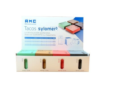 Sylomer pads display (Ref: 755037)