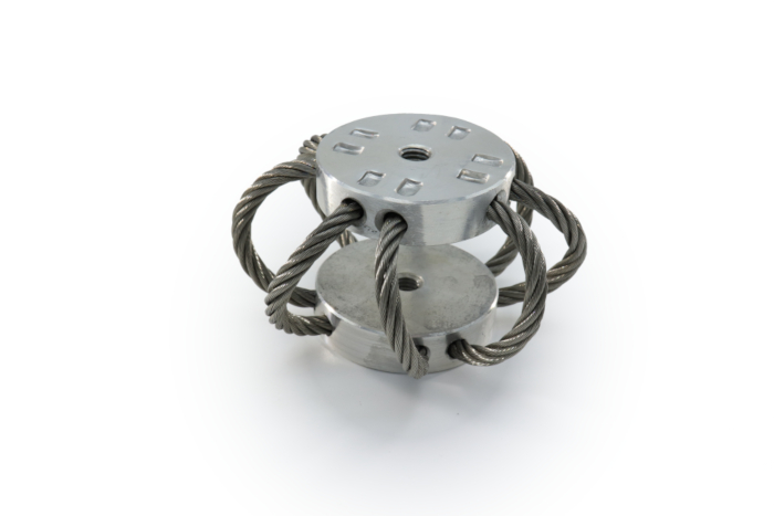 NEW  A-50 WIRE ROPE MOUNT FOR SHOCK AND VIBRATION ISOLATION