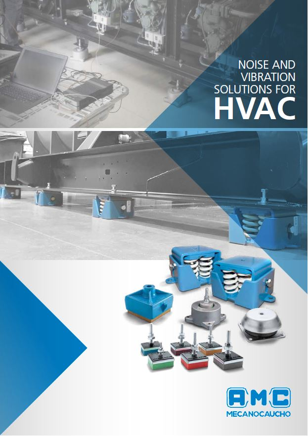 New catalogue of anti-vibration mounts for HVAC air conditioning and ventilation systems