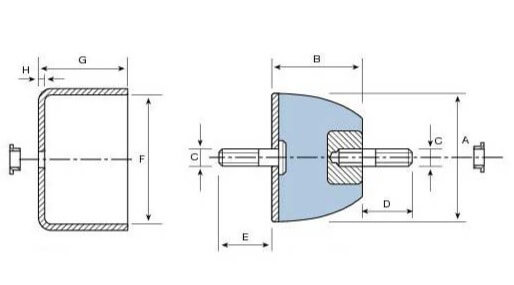 ELASTIC COUPLINGS D.P. Type