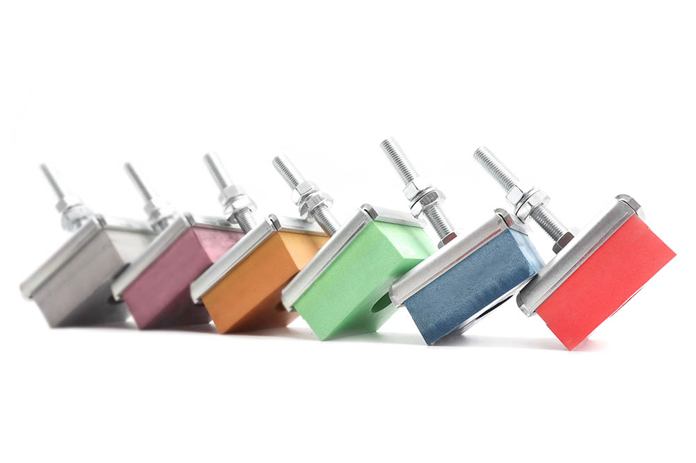 TSR 100x100 Anti vibration mounts