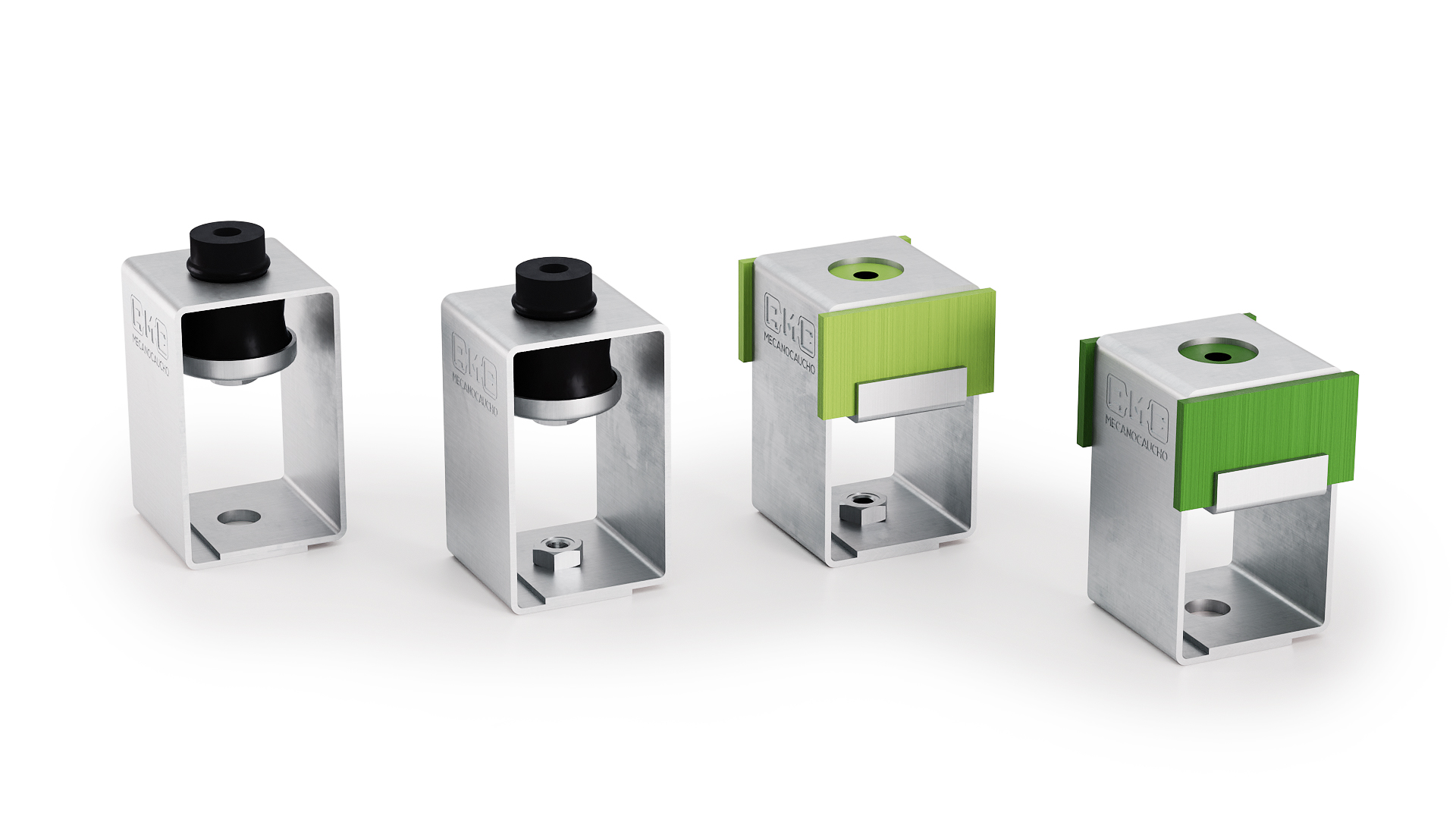 Die neuen Modelle der Schallschutzabhänger von AMC Mecanocaucho