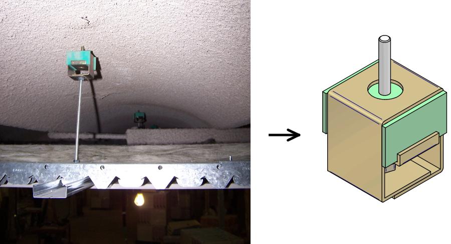 correcte s lection et b n fices des suspentes antivibratiles amc mecanocaucho. Black Bedroom Furniture Sets. Home Design Ideas
