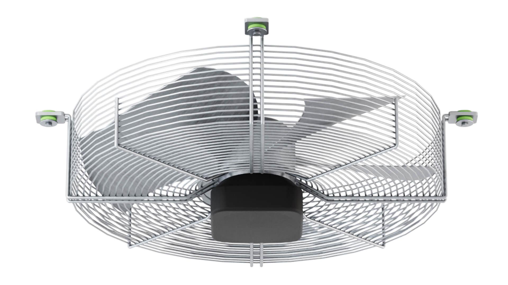 Akustik Ventilator + Sylomer®.