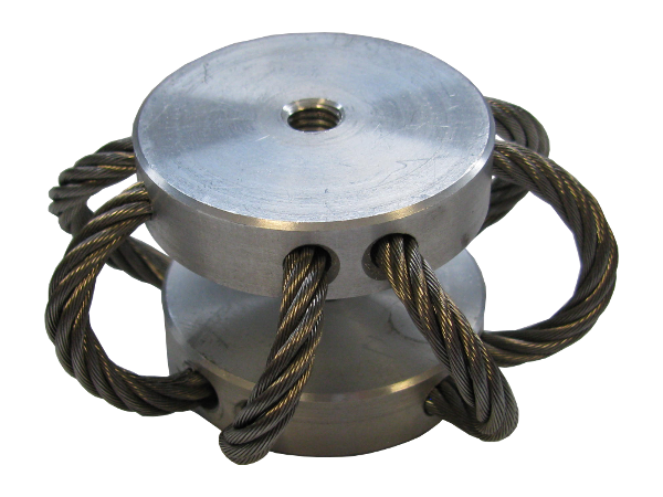 Wire-rope mount, anti vibration mount
